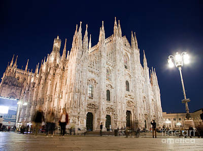 Old Milano Photograph - Milan Cathedral Duomo Italy by Michal Bednarek