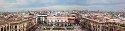 Saint Photograph - Milan Italy View On Piazza Del Duomo by Michal Bednarek