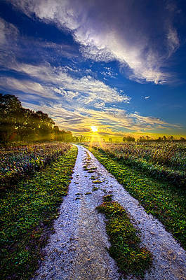 Miles On My Heart Print by Phil Koch