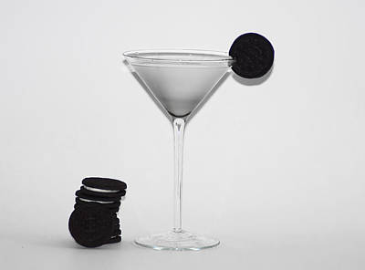 Oreo Photograph - Milk And Cookies by Bill Cannon