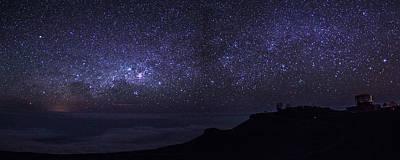 Milky Way Above Maui Print by Brad Scott