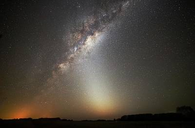 2012 Photograph - Milky Way And Zodiacal Light by Luis Argerich