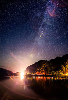 Galaxy Photograph - Milky Way Express by Alexis Birkill