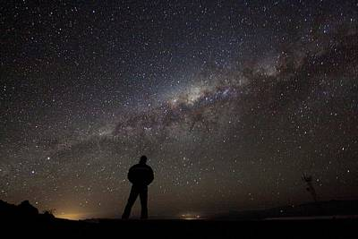 Stargazing Photograph - Milky Way From La Silla by Eso/a. Fitzsimmons
