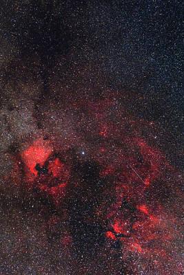 Ic Photograph - Milky Way Nebulae by Babak Tafreshi