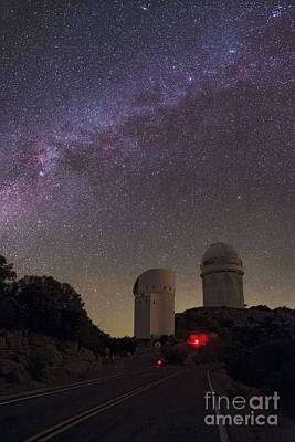 Quinlan Photograph - Milky Way Over Kitt Peak Observatory by Babak Tafreshi