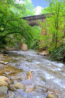Mill Creek Viaduct Print by Bob Jackson