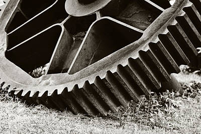 Mill Gear Print by Scott Pellegrin