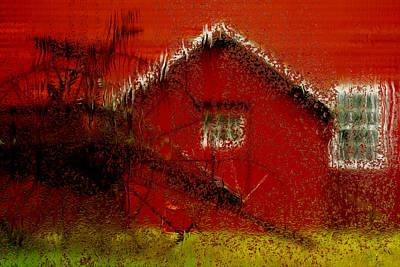 Mill - Rainy Day Series Print by Jack Zulli