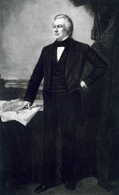 Black History Painting - Millard Fillmore by George Healy