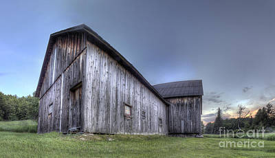 Miller Barn At Sleeping Bear Dunes Print by Twenty Two North Photography