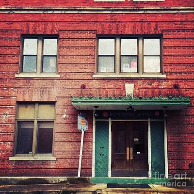 Brick Buildings Photograph - Miller's Falls by HD Connelly
