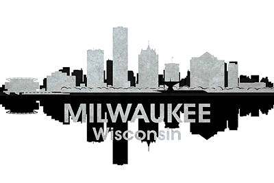 Milwaukee Wi 4 Print by Angelina Vick