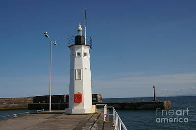 Anstruther Photograph - Mimicking A Lighthouse by Elena Perelman