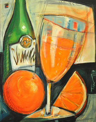 Brunch Painting - Mimosa by Tim Nyberg