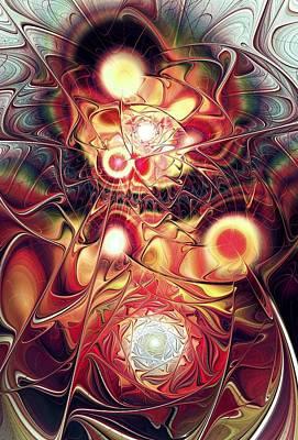 Fractal Digital Art - Mind Meld by Anastasiya Malakhova