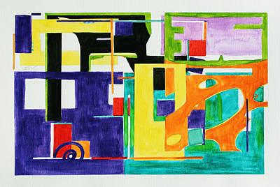 Mindscape II Print by Xueling Zou