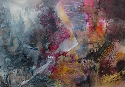 Mindscape Print by Marilyn Woods