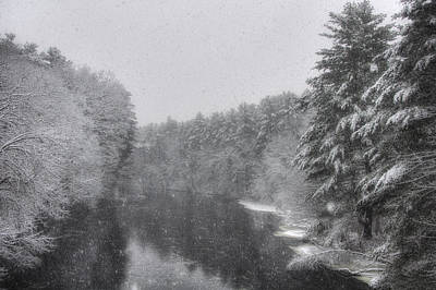 Mine Falls Park - Nashua New Hampshire Print by Joann Vitali