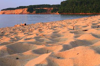 Miners Beach At Pictured Rocks National Lakeshore Print by Dan Sproul