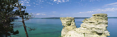 Miners Castle, Pictured Rocks National Print by Panoramic Images