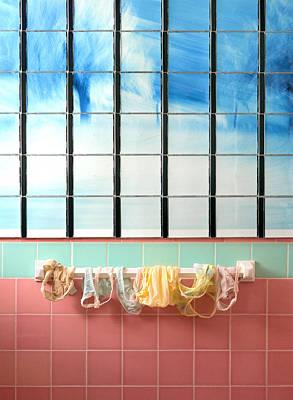 Mini Laundry Print by Daniel Furon