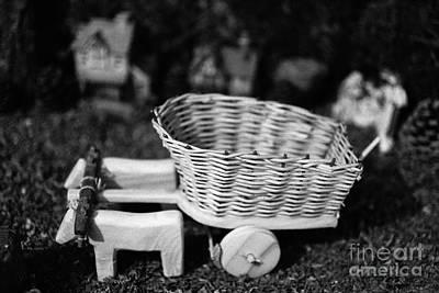 Miniature Oxen-cart Print by Gaspar Avila