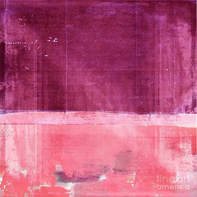 Abstract Wall Art Digital Art - Minima - S02b Pink by Variance Collections
