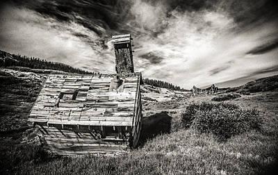 Mining Photograph - Quartz Mountain 5 by Yo Pedro