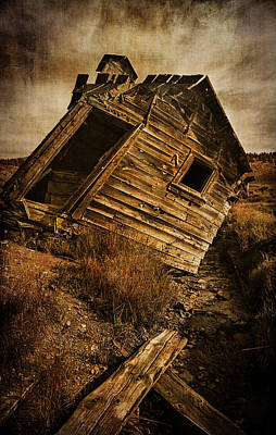 Ramshackle Photograph - Quartz Mountain 8 by YoPedro