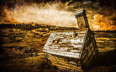 Ramshackle Photograph - Quartz Mountain 2 by YoPedro