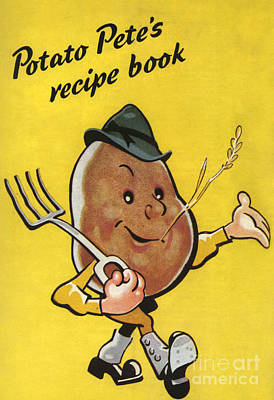 Nineteen-thirties Drawing - Ministry Of Food  1930s Uk Potatoes by The Advertising Archives