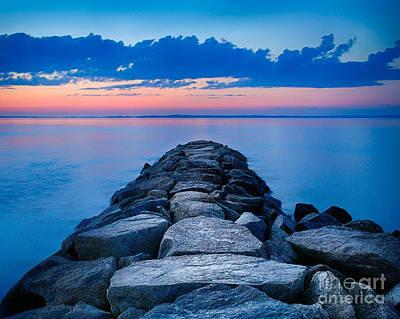 Beach Photograph - Mink Meadow Jetty by Mark Miller