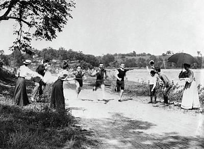 Minnesota Foot Race Print by Granger
