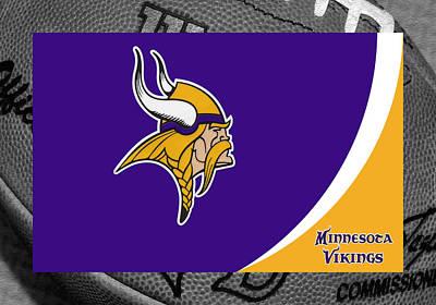 Minnesota Vikings Print by Joe Hamilton