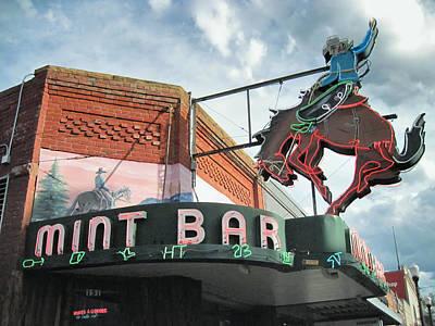 Landmarks Photograph - Mint Bar Sheridan Wyoming by Mary Lee Dereske