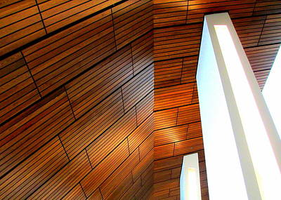 Mint Ceiling 1 Print by Randall Weidner