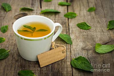 Mint Tea Print by Aged Pixel