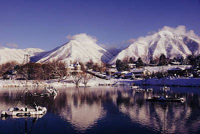 Winter Photograph - Mirror by Gloria Pasko