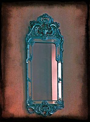 Mirror Mirror On The Wall... Print by Marianna Mills