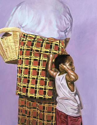 African-american Painting - Mischief by Colin Bootman