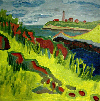 Baker Island Painting - Misery Island by Debra Bretton Robinson