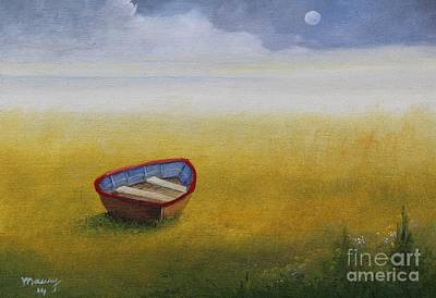 Missing Boat Original by Alicia Maury