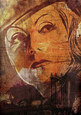 Brooklyn Bridge Painting - Missing New York by Stefan Kuhn