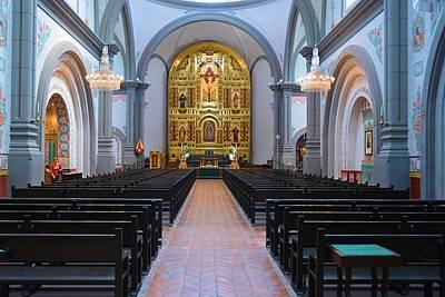 Mission Basilica #2 Print by Richard Jenkins