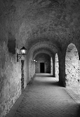 Mission Concepcion Rock Archway Print by David and Carol Kelly