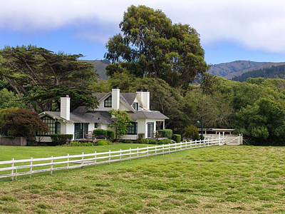 Country Scenes Photograph - Mission Ranch - Carmel California by Glenn McCarthy Art and Photography