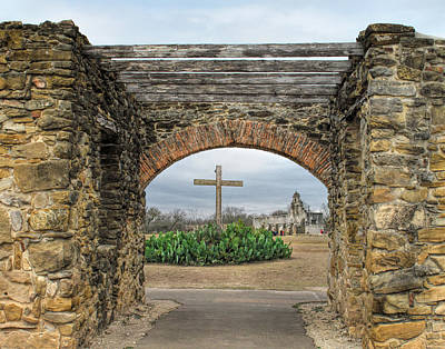 United States Mission Church Photograph - Mission San Juan Capistrano by David and Carol Kelly