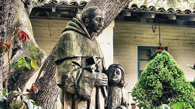 Mission San Juan Bautista Photograph - Missionary Priest No. 2 by Mkaz Photography