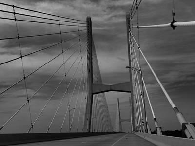 Mississippi River Bridge Print by Dan Sproul